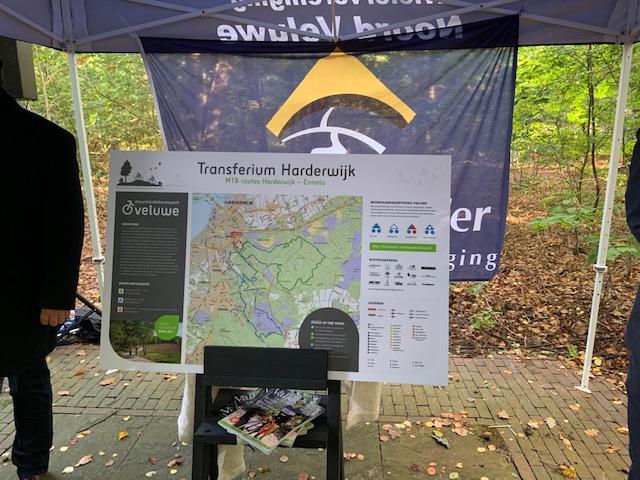 opening MTB route Harderwijk-Ermelo